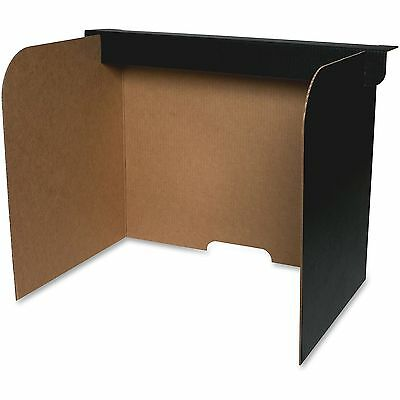 """Flipside Products Privacy Screen Small 19""""x12""""x14"""" 24/PK BK/BN 61852"""