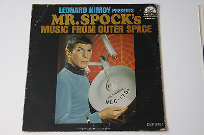 Leonard Nimoy - Mr Spock Presents Music From Outer Space US 1967 Vinyl LP RARE