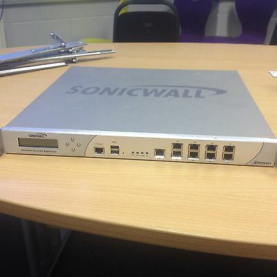 Dell SonicWall NSA E6500 Firewall Network Security Appliance