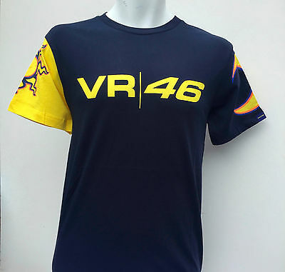 """Mens OFFICIAL Valentino Rossi Navy Blue T Shirt VR