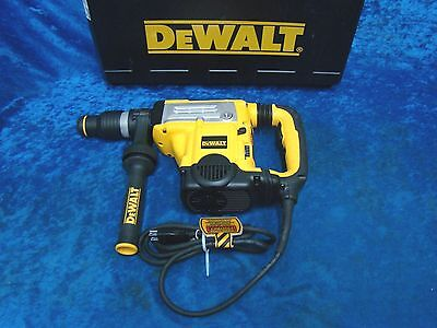 "DeWalt D25603 1-3/4"" SDS Max Combination Hammer with SHOCKS & E-CLUTCH, NEW"