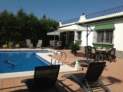 Beautiful Villa In Spain Swimming Pool Fab Rental £1800 A Week Chiclana Cadiz