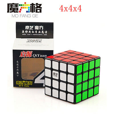 QiYi  4X4X4 Speed  Magic Cube Stickerless Ultra-smooth G4 Cube Puzzle Twist Toys