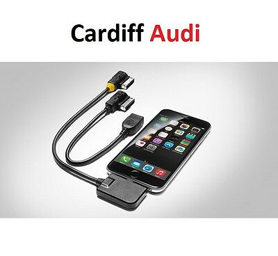 Genuine Audi Music Interface Cable AMI - Lightning Connection + USB  4F0051510AM