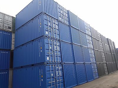 New 20Ft Shipping Containers For Sale From £1895
