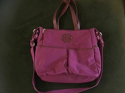 TORY BURCH diaper bag with changing pad