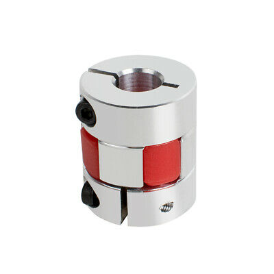Safety Use 8mm x 10mm CNC Stepper Motor Flexible Plum Jaw Shaft Coupling Coupler