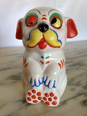 Vintage Japan Bonzo COLORFUL Character - Famous Studdy Comic Book Terrier Dog!