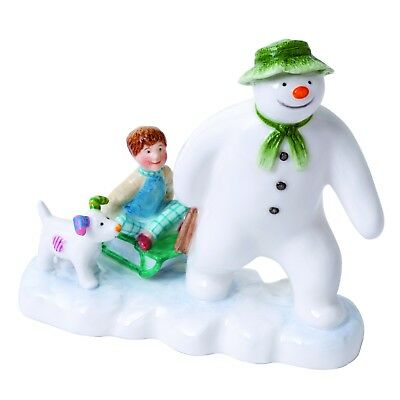 The Snowman Beswick Snowman Billy and Snowdog Briggs Figurine 11.5cm JBS7 RRP£32