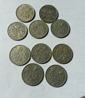 collection  of sixpences