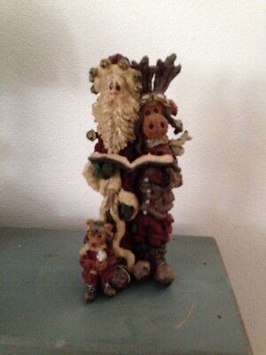 Boyds Bears In Friends Santa And Moose