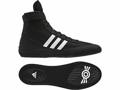 Adidas Wrestling Combat Speed 4 Black White Boots Shoes Adults - D65552