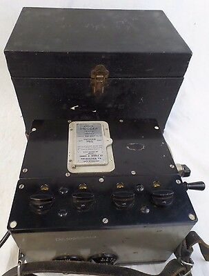 Bridge Megger Tester w/Case, 500 Volt, Series 2, James G. Biddle Co.