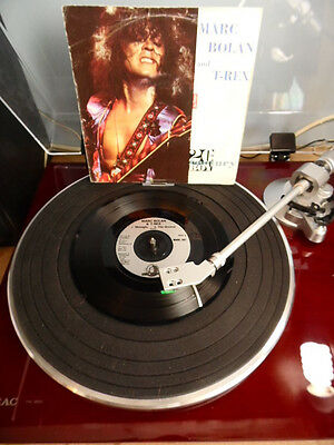 "Marc Bolan and T Rex 20th Century Boy/Midnight/The Groover 1991 UK 7"" EX Audio"