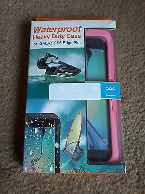 WATERPROOF SHOCKPROOF DIRT PROOF CASE COVER FOR Samsung Galaxy S6 Edge+ Plus