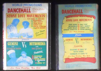 Dancehall Stone Love Movements VHS World Production