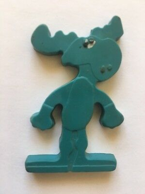 1969 Bullwinkle Rubber Cereal Premium Figures