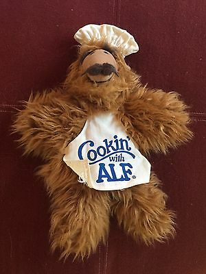 "Alf Vtg Hand Puppet ""cookin With Alf"""