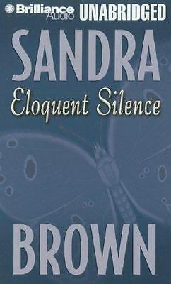 BRAND NEW!  ELOQUENT SILENCE unabridged audio book on CASSETTE by SANDRA BROWN
