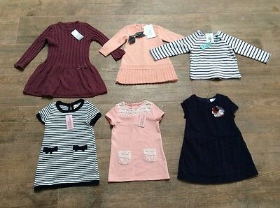 Baby Girl Dress Clothes Bundle Size 12-18 Months