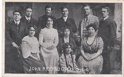 John Ridding Opera Co. @ New Pavilion, Rhyl 1910.