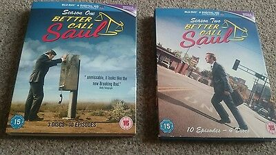 Better Call Saul Seasons 1And 2 Blu Ray