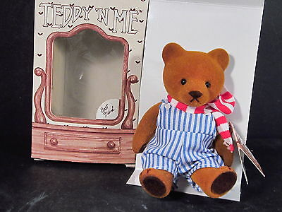 Dolls & Bears Dolls Emotions Mattel Teddy N Me Bear 1983 Vintage Good Luck New