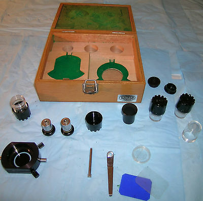 Optical Parts of Olympus Microscope