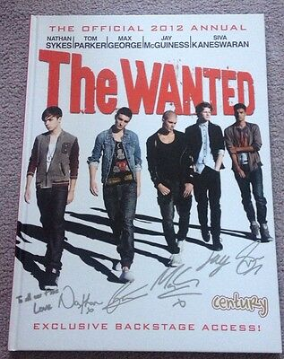 The Wanted - Official 2012 Annual