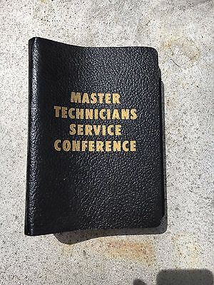 Chrysler Service Reference Book - Master Technicians Service Conference - Vol #2