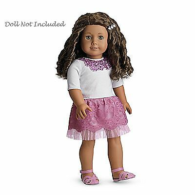 "American Girl MY AG SPARKLE SEQUIN OUTFIT for 18"" Dolls Retired Clothes NEW"