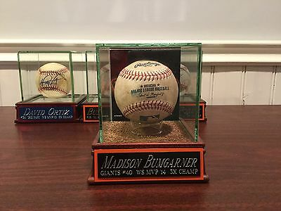 Madison Bumgarner game used baseball MLB authentication
