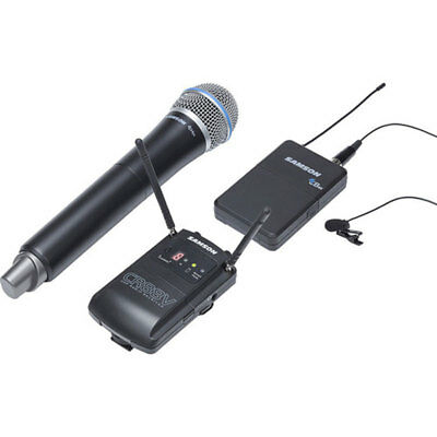 Samson Concert 88 Camera Handheld Combo UHF Wireless Mic System- Frequency D