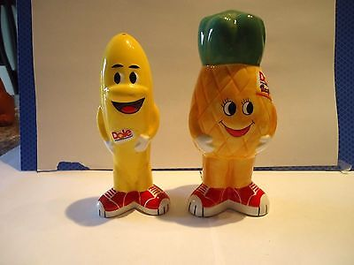 Dole Food Company Collectible Ceramic Salt & Pepper Shakers