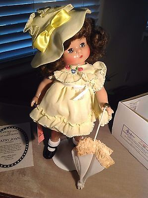 """16"""" Vintage  """"Patsy Joan"""" by Effanbee  V525 w/wig - 1995 - 22 YEARS OLD"""