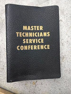 Chrysler Service Reference Book - Master Technicians Service Conference - Binder