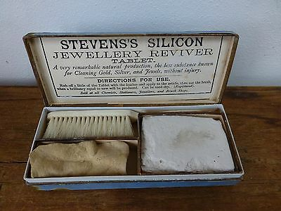 Stevens's Silicon Jewellery Reviver - Vintage dressing Room vanity accessory