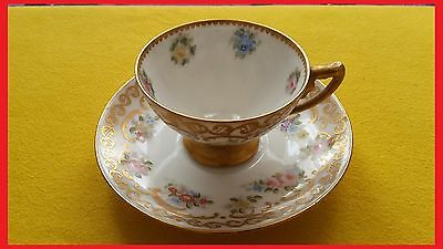 ~~Vintage Rosenthal Selb Bavaria Miniature Saucer And Cup Very Collectible