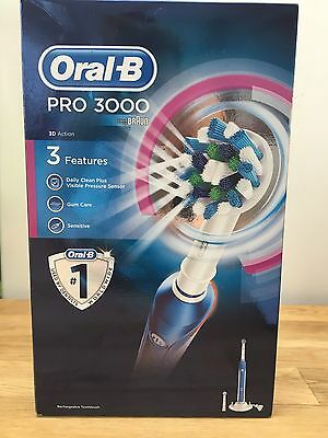 oral b pro 3000 electric toothbrush