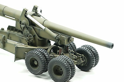 US 155mm Gun M2 Long Tom  Drive Mode PRO BUILT Gebaut 1/35