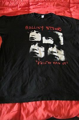 lot de 3 tee shirt XL  rolling stones