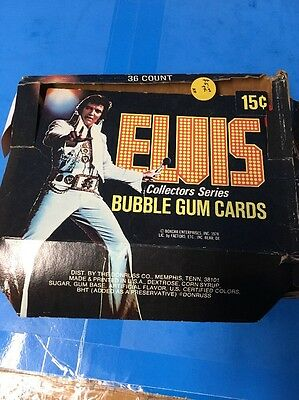 1978 Elvis Collectors Series 32 Sealed Pack Lot, RC