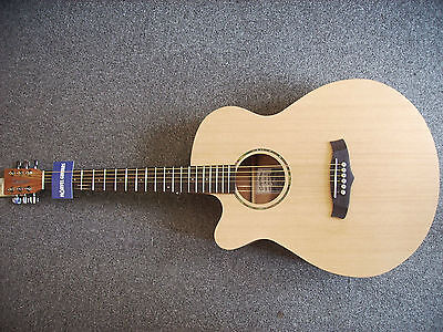 Tanglewood TWR SFCE LH LEFT HANDED electro acoustic guitar, satin finish, USED