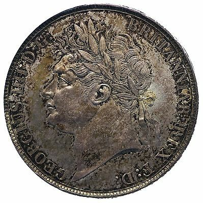 George IV Silver Crown 1822 Old ESC 252 New ESC 2320 S3805 Mint State Rare