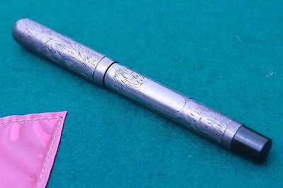 silver fountain pen