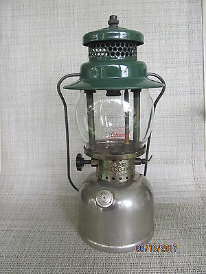 Coleman  Model 242B Camping Lantern Dated 9-50 Made In Canada