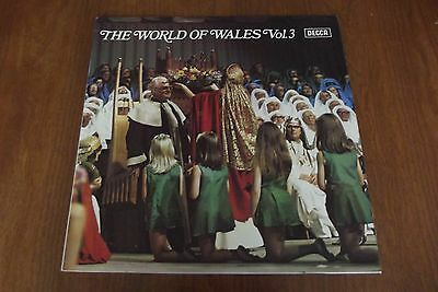 1980's 12 inch LP Record - THE WORLD OF WALES Vol 3 - Welsh Hymns