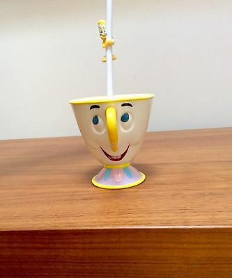 DISNEY On Ice Chip Cup and Lumiere Straw