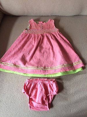 Girls Marks And Spencer Dress 0-3 Months