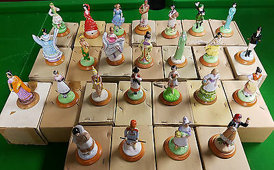 Set of 25 Lovely Ladies of Many Lands Danbury Mint Figurines